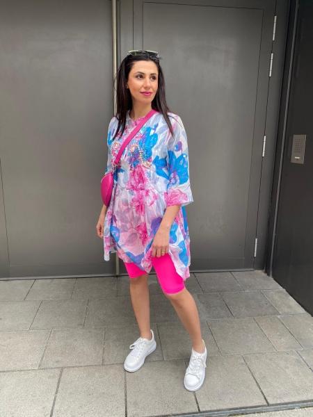 Damen neon Radlershorts Leggings