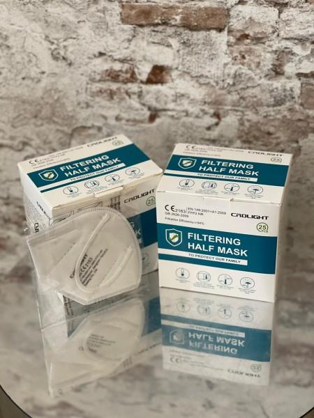 zertifizierte FFP2 Masken weiß