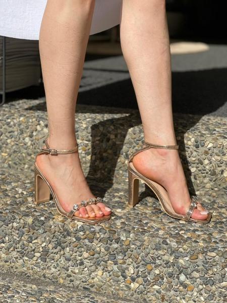 Damen High Heel Sandalen