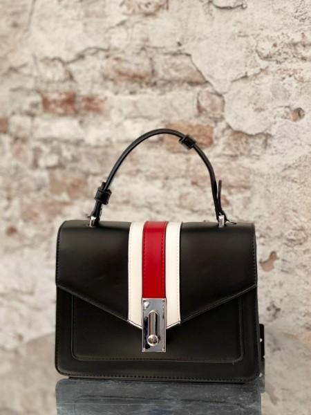 Damen eckige Tasche mit Streifen Design