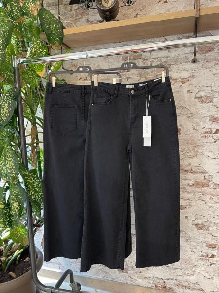 Damen weite Culotte Jeans