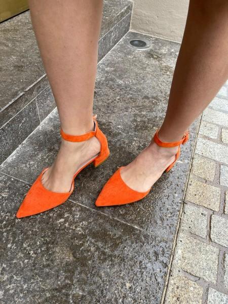 Danity Damen schlichte Sandalen mit Knöchel Riemen