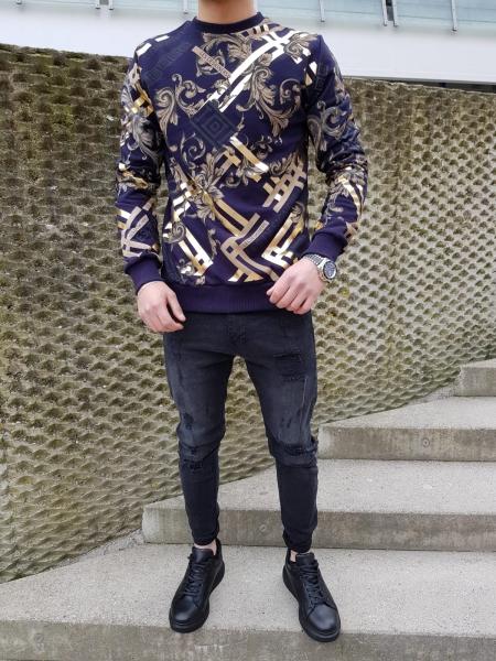 Herren Sweatshirt mit Print