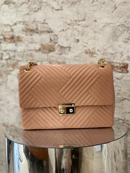 Damen gesteppte große Handtasche