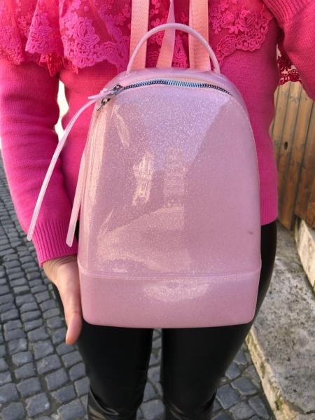 Damen weich PVC Rucksack