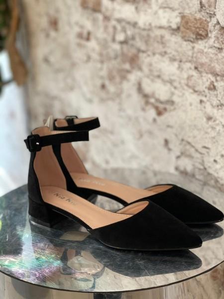 Damen schlichte Sandalen mit Knöchel Riemen