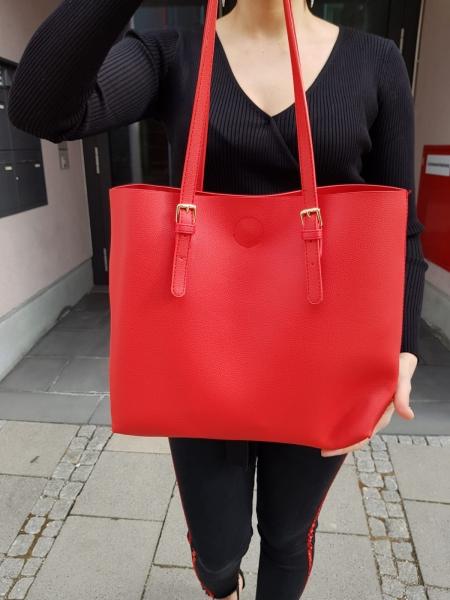 Damen simple Shopper Tasche
