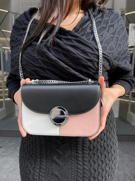 Damen Colorblock Handtasche