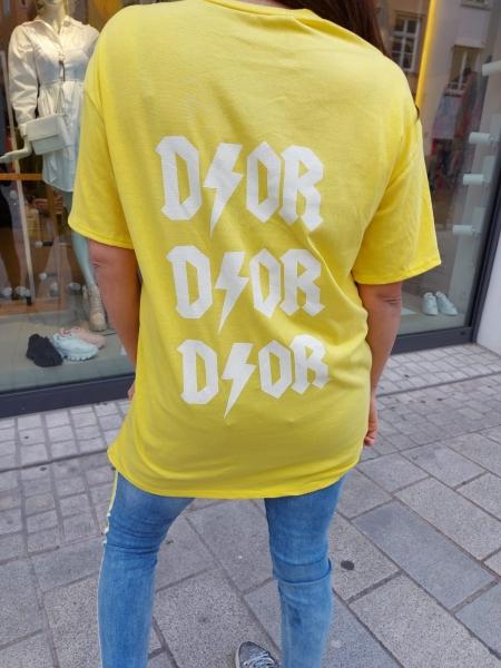 Damen Oversize T-Shirt mit Print