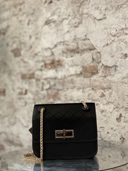 Damen kleine Handtasche mit Ketten Riemen