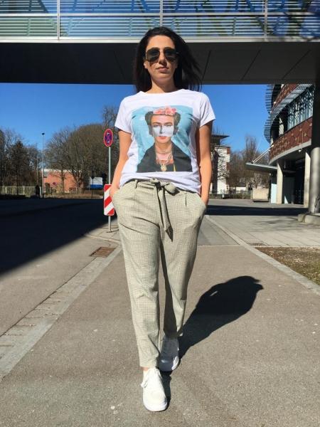 Damen Frieda Kahlo T-Shirt