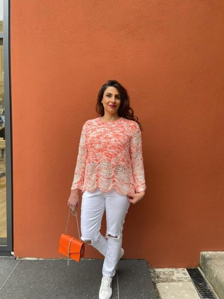 Damen leichter Pullover