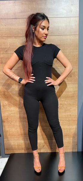 Damen Jumpsuit mit Korsett Taille
