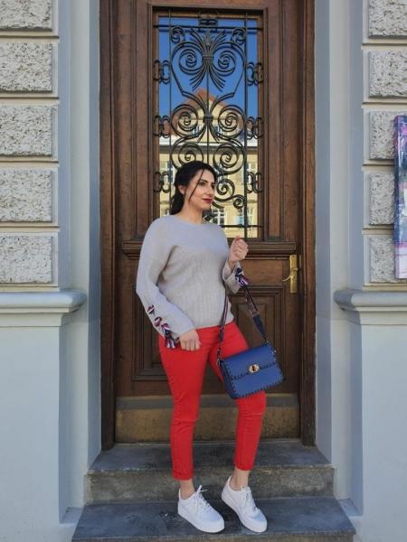 Damen skinny Highwaist Jeans