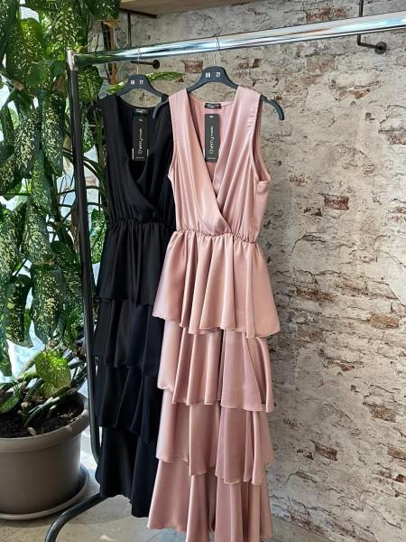 Damen langes, elegantes Abendkleid