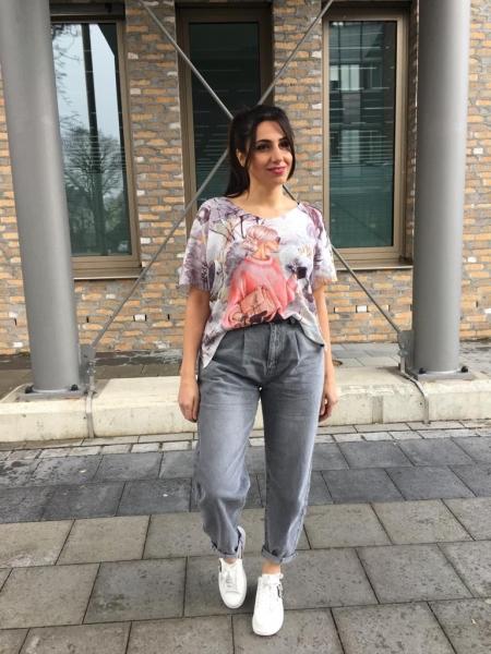 Damen Slouchy Mom Jeans