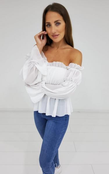 Damen Off-Shoulder Bluse