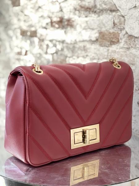 Damen Handtasche gestepptes Design