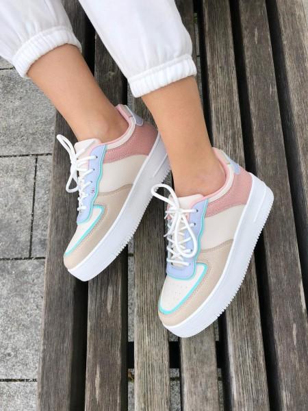 Damen Colorblock Sneaker