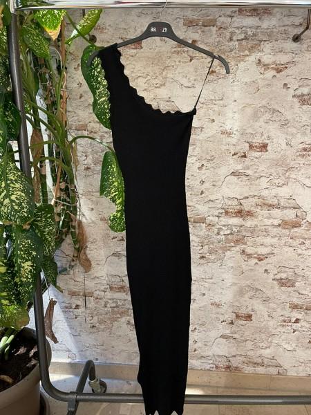 Damen einärmliges langes Kleid