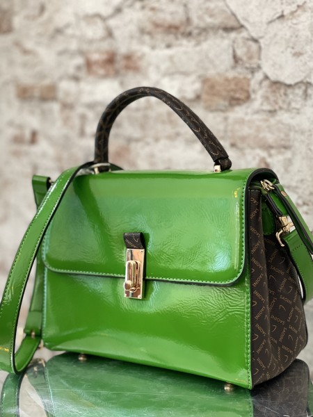 Damen grüne Damen Handtasche